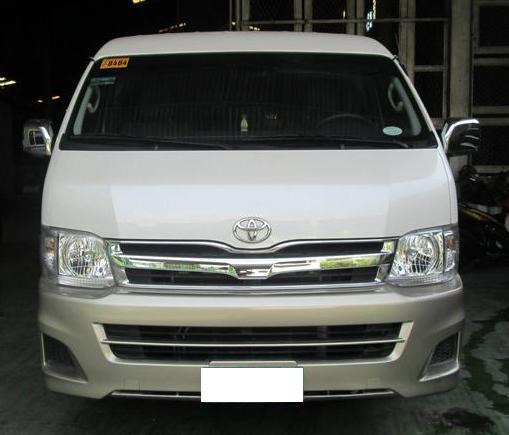 Toyota Hi-Ace Grandia for Rent photo