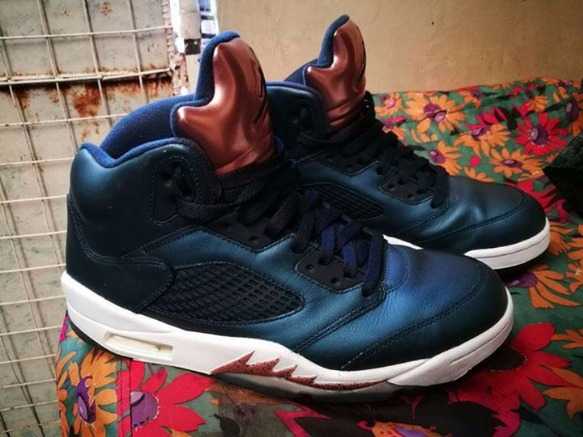 Jordan 5 obsidian us10 photo