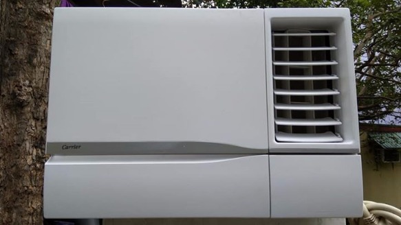 Aircon carrier 1hp icool series with timer and fan plug photo