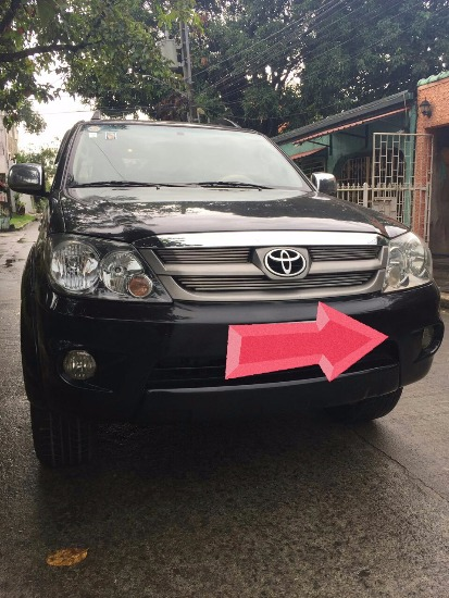 Toyota fortuner 2007 photo
