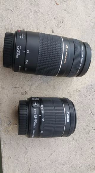 Canon dslr lenses I.S. STM USM photo