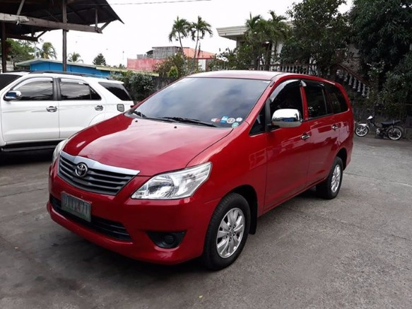 Toyota innova E 2012 3rd gen diesel manual photo