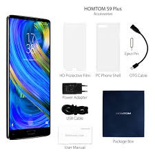HOMTOM S9 Plus 4G Phablet BLUE 4GB RAM 64GB ROM 13.0MP Front Camera New Factory Unlocked photo