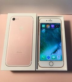 APPLE IPHONE 7 256GB ROSE GOLD BRAND NEW FACTORY UNLOCKED photo