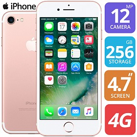 APPLE IPHONE 7 256GB ROSE GOLD BRAND NEW FACTORY UNLOCKED image 2