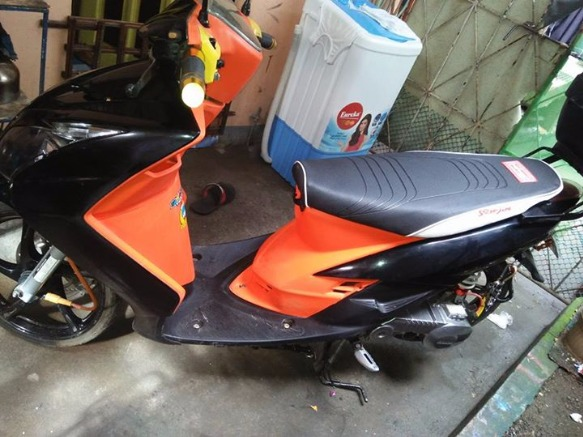 Yamaha mio sporty converted mio4 face photo