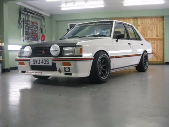 lancer boxtype 87 sl ralliart 5speed 1400cc photo