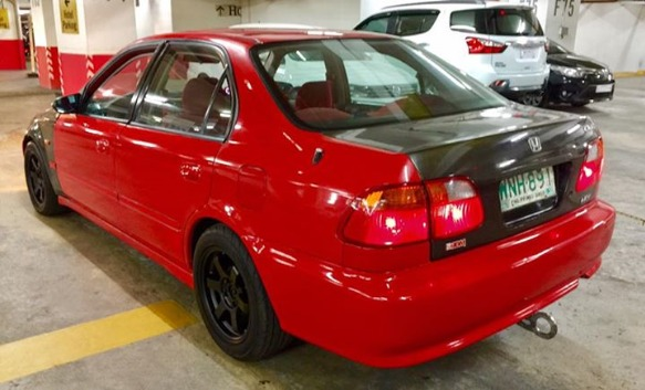 Honda Civic SiR Look Vtec Engine M/T image 2