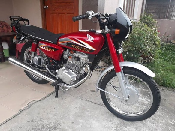 Honda tmx 155 2015acquired photo