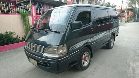 Toyota hi ace grandia super custom turbo diesel photo