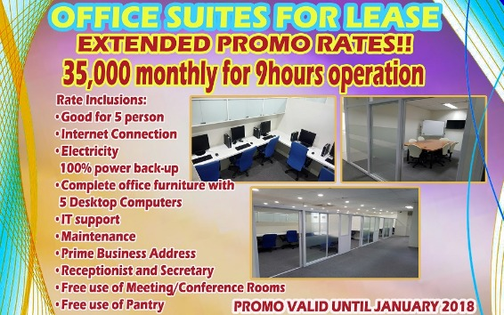 Office Suites for Lease Extended Promo Rates photo