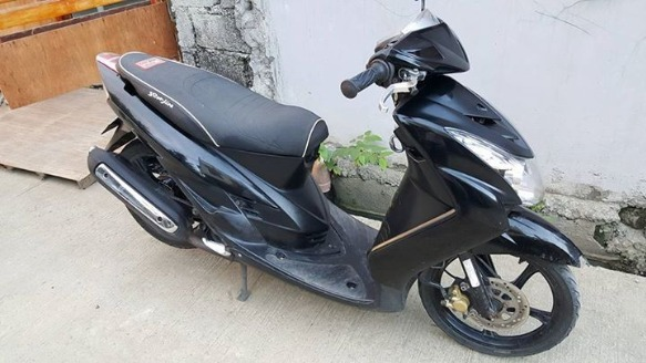Yamaha mio soul all stock photo