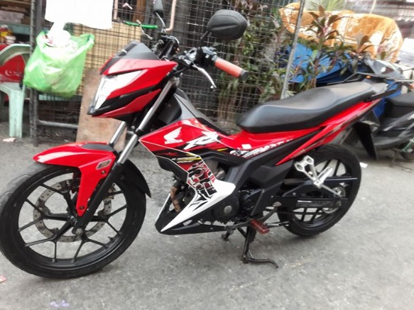 Honda RS150 Fi 2016 Acquired 2017 Model photo