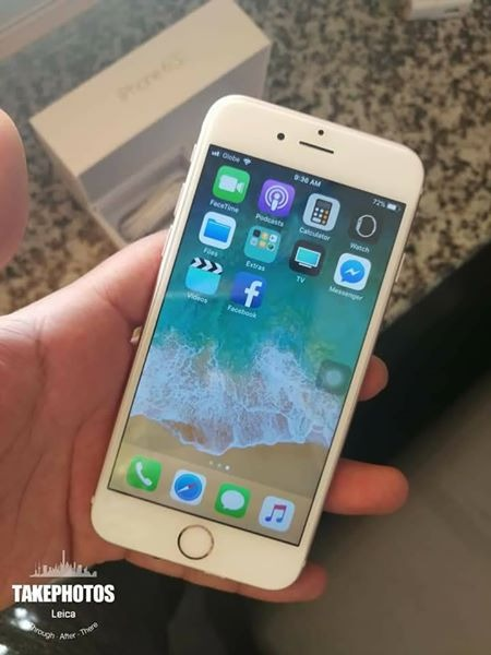 Iphone 6s 16gb factory unlock rosegold photo