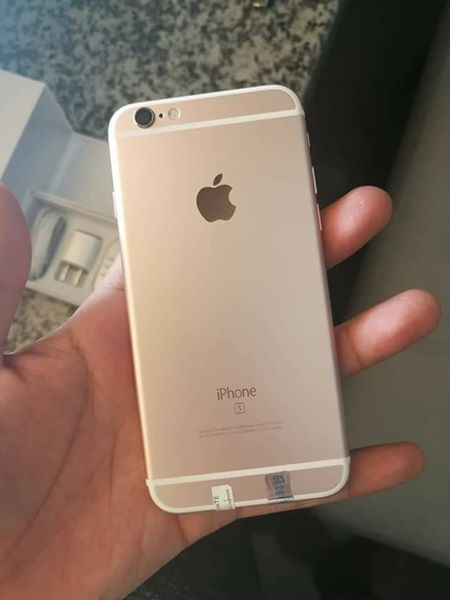 Iphone 6s 16gb factory unlock rosegold image 2