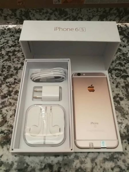 Iphone 6s 16gb factory unlock rosegold image 3