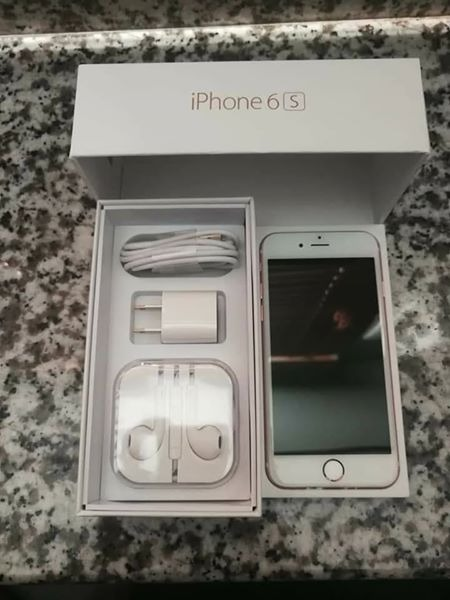 Iphone 6s 16gb factory unlock rosegold image 4