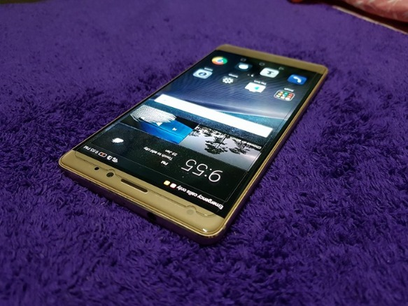 Huawei Mate S 64gb Luxurious Gold photo