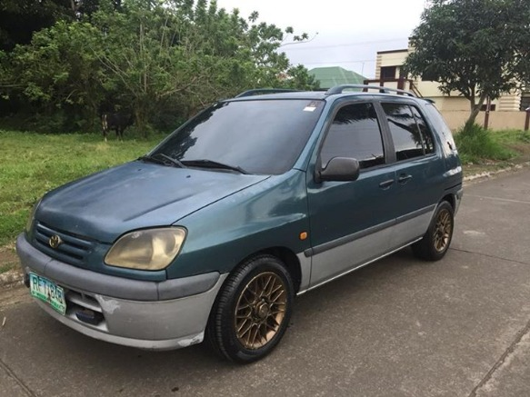 toyota raum a/t 97 photo