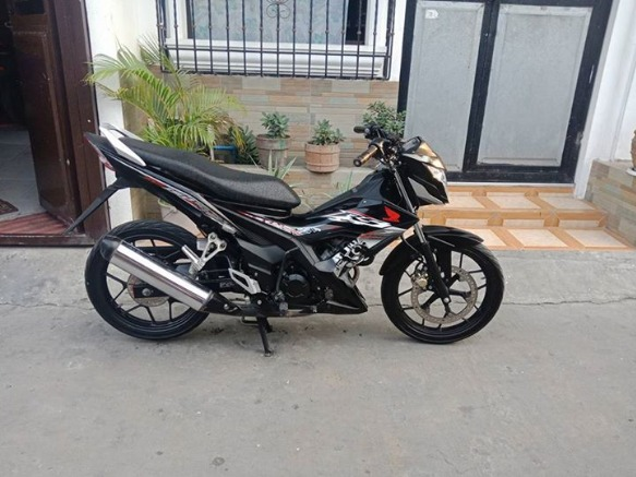 Honda rs 150 black model 2016 photo