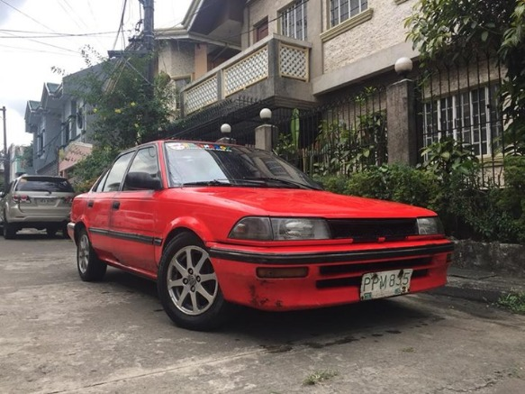 toyota corolla small body GL 1990 photo