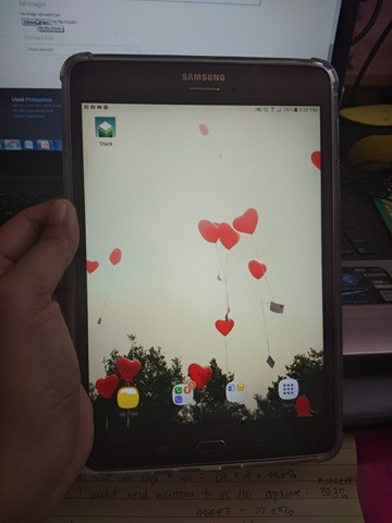 For Sale!! Samsung Tab A with S Pen photo