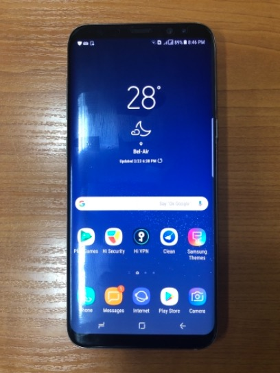 Samsung S8 Plus (64gb) Maple Gold Factory Unlocked photo