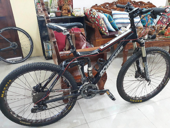 Kinesis Full Suspension Mountain Bike photo