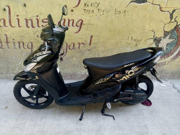 Yamaha Mio Sporty Blackgold 2015 acq 2016 photo