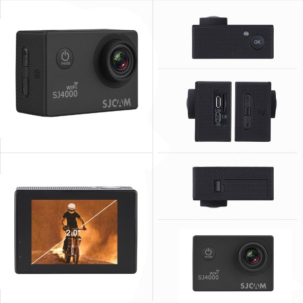 SJCAM SJ4000WIFI 12MP CAMERA photo