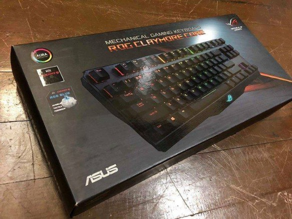 Asus ROG Claymore Core Gaming Keyboard photo