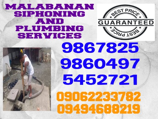 MALABANAN SIPHONING PLUMBING SERVICES 9860497/09494688219 photo