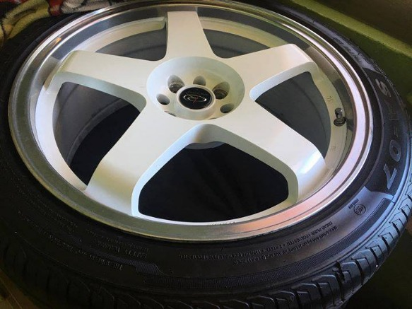 Rota P45 18inch Mags with tires image 2