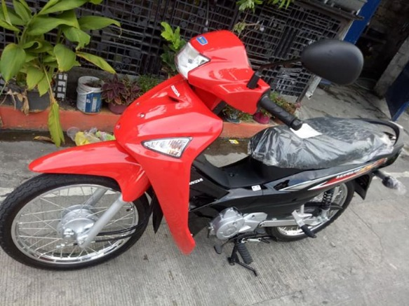 Honda wave 110 BRAND NEW no issue registered 2018 image 2