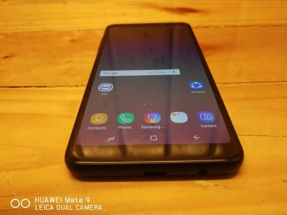 Samsung Galaxy A8 Duos 2018 Black 4G LTE photo