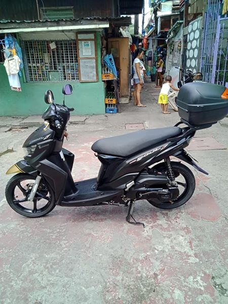 Yamaha mio soul fi 115 2015 model (matte black) photo
