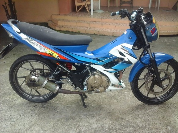 Suzuki raider 150r photo