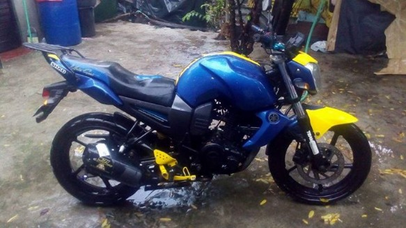 Yamaha fz16 photo