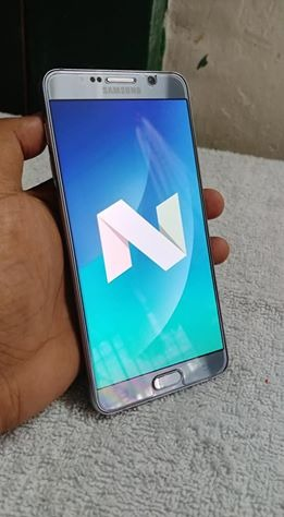 Samsung Note 5 Silver 32gb photo
