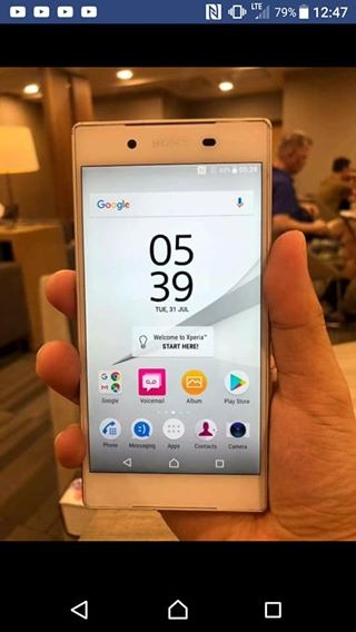 Sony Xperia Z5 32 gb white photo