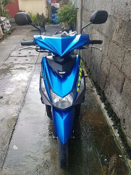 mio i 125 fi blue photo