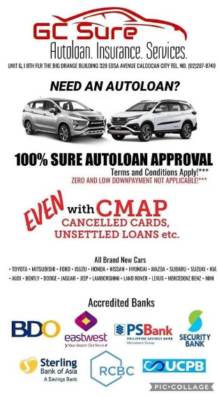 Always Decline? Sure Approved with GC Sure Autoloan  Toyota Fortuner 2.7 Gas 4x2 AT image 3