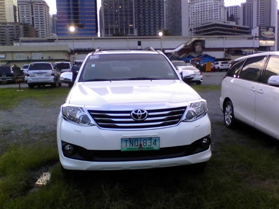2012 TOYOTA FORTUNER G DIESEL AUTOMATIC photo