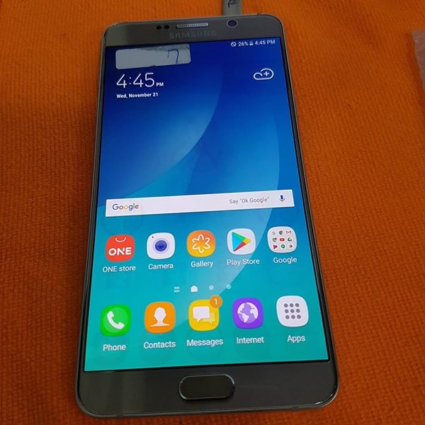 NOTE 5 GOLD 64GB INTERNAL ,4GB RAM photo