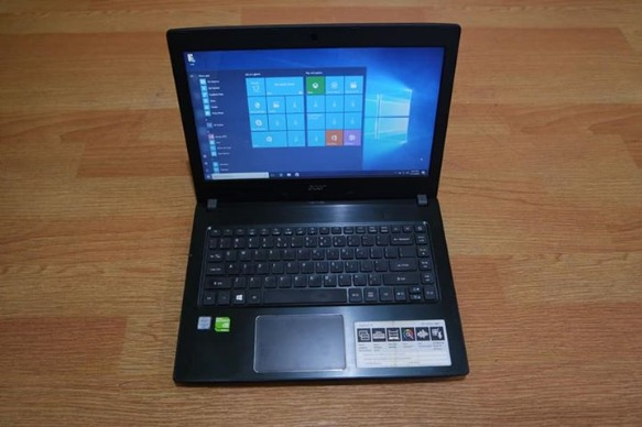 Acer aspire Core i3 6th gen 2gb Nvidia 940mx 14.1