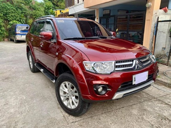 Mitsubishi Montero 2014 GLX (Sedona Red) photo