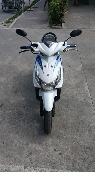 Honda beat white 2012 acquired2013 photo