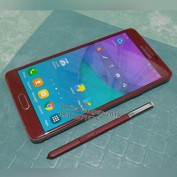 Samsung Galaxy Note 4 32gb 3gb ram Velvet Red  SM-N910s 4G LTE Openline photo