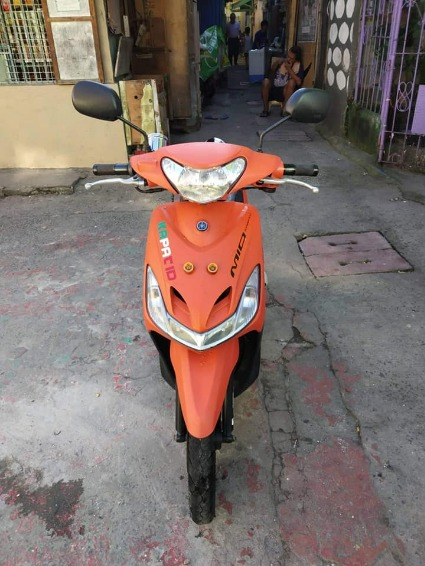 2017 mio sporty matte orange image 3