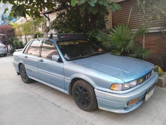 Mitsubishi galant 1991 manual photo